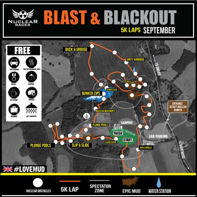 Blast/Blackout OCR map